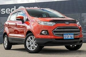 2013 Ford Ecosport BK Titanium PwrShift Red 6 Speed Sports Automatic Dual Clutch Wagon Maddington Gosnells Area Preview