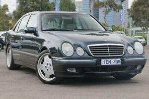 2000 Mercedes-Benz E430 W210 Elegance Blue 5 Speed Sports Automatic Sedan Docklands Melbourne City Preview