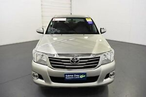 2013 Toyota Hilux GGN15R MY12 SR5 Double Cab Sterling Silver Automatic Utility Moorabbin Kingston Area Preview
