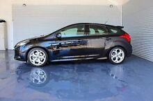2014 Ford Focus LW MKII ST Black 6 Speed Manual Hatchback Parramatta Park Cairns City Preview