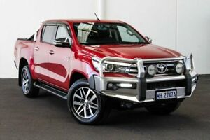 2015 Toyota Hilux GUN126R SR5 Double Cab Olympia Red 6 Speed Sports Automatic Dual Cab Myaree Melville Area Preview
