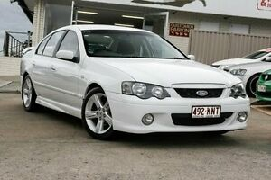 2005 Ford Falcon BA Mk II XR6 White 4 Speed Sports Automatic Sedan Yeerongpilly Brisbane South West Preview