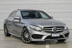 2016 Mercedes-Benz C250 205 MY16 Silver 7 Speed Sports Automatic Sedan Ringwood East Maroondah Area Preview