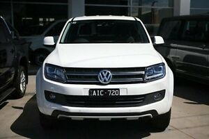 2016 Volkswagen Amarok 2H MY16 TDI420 4MOTION Perm Atacama White 8 Speed Automatic Utility Frankston Frankston Area Preview