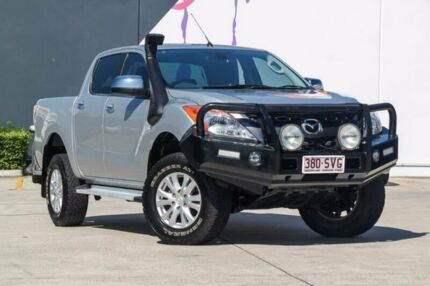 2012 Mazda BT-50 UP0YF1 GT Silver 6 Speed Sports Automatic Utility