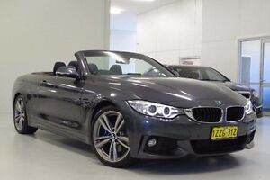 2014 BMW 420d F33 M Sport Grey 8 Speed Sports Automatic Convertible Myaree Melville Area Preview