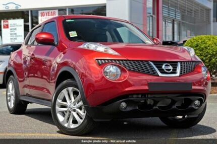 2014 Nissan Juke F15 MY14 Ti-S AWD Red 1 Speed Constant Variable Hatchback Cleveland Redland Area Preview