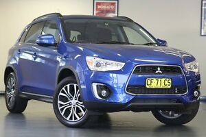 2015 Mitsubishi ASX XB MY15 LS 2WD Lightning Blue 6 Speed Constant Variable Wagon Chatswood Willoughby Area Preview