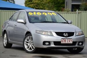 2005 Honda Accord Euro CL Luxury Silver 5 Speed Automatic Sedan Bray Park Pine Rivers Area Preview