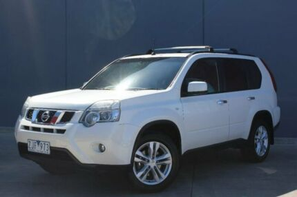 2011 Nissan X-Trail T31 Series IV ST-L White 1 Speed Constant Variable Wagon