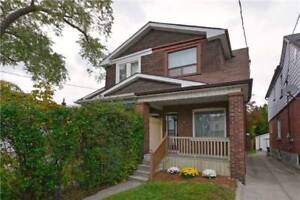 2-Storey Duplex In Desirable Location Steps From Donlands Subway