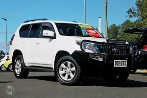 2015 Toyota Landcruiser Prado GDJ150R GXL Glacier White 6 Speed Sports Automatic Wagon Monkland Gympie Area Preview