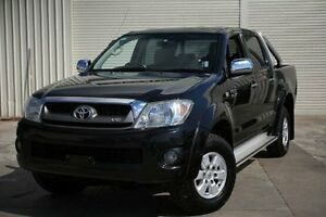 2011 Toyota Hilux GGN25R MY10 SR5 Black 5 Speed Automatic Utility Seaford Frankston Area Preview