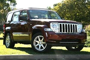 2008 Jeep Cherokee KK MY08 Limited Red 4 Speed Automatic Wagon Yeerongpilly Brisbane South West Preview