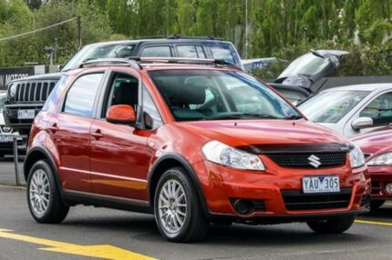 2010 Suzuki SX4 GYB MY10 Orange 6 Speed Constant Variable Hatchback Ringwood East Maroondah Area Preview