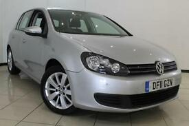 2011 11 VOLKSWAGEN GOLF 1.6 MATCH TDI BLUEMOTION TECHNOLOGY 5DR 103 BHP DIESEL