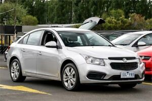 2015 Holden Cruze JH Series II MY15 Equipe Silver 6 Speed Sports Automatic Sedan Ringwood East Maroondah Area Preview