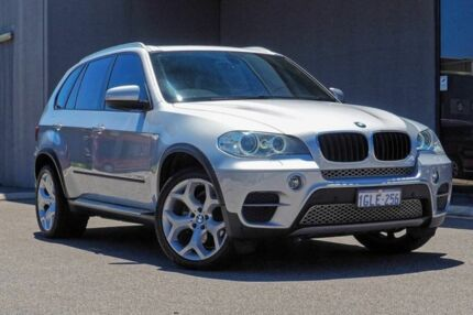 2013 BMW X5 E70 MY1112 xDrive30d Steptronic Silver 8 Speed Sports Automatic Wagon Osborne Park Stirling Area Preview