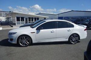 2014 Ford Falcon Winter White Auto Seq Sportshift Mackay Mackay City Preview