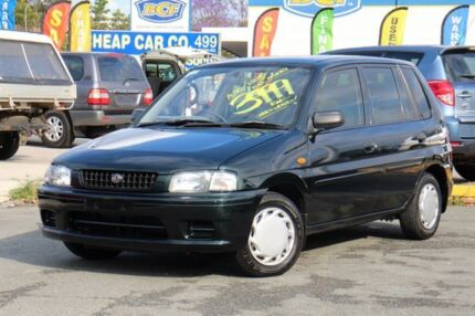 1996 Mazda 121 DW1031 Metro Green 3 Speed Automatic Hatchback