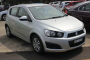 2015 Holden Barina TM MY15 CD Silver 6 Speed Automatic Hatchback Maryville Newcastle Area Preview