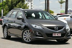 2011 Mazda 6 GH1052 MY10 Classic Grey 5 Speed Sports Automatic Wagon Macgregor Brisbane South West Preview