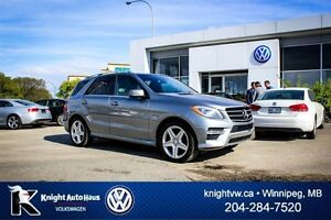 2013 Mercedes-Benz M-Class ML350 BlueTEC AWD Premium w/ AMG/Driv