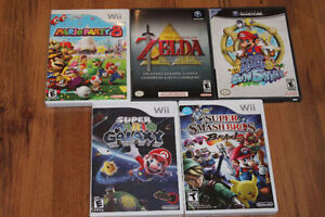 Nintendo Gamecube and Wii Games