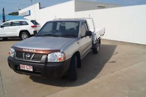 2003 Nissan Navara D22 MY2002 DX Silver 5 Speed Manual Cab Chassis