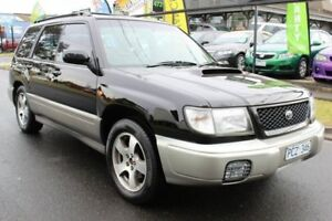 1998 Subaru Forester 79V MY99 GT AWD Black 5 Speed Manual Wagon West Footscray Maribyrnong Area Preview