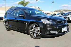 2014 Holden Ute VF MY14 SS Ute Storm Phantom Black 6 Speed Manual Utility Northbridge Perth City Area Preview