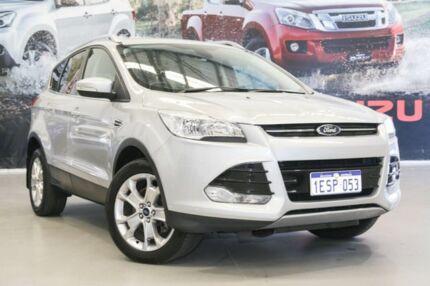 2014 Ford Kuga TF Trend (AWD) Silver 6 Speed Automatic Wagon Rockingham Rockingham Area Preview