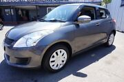 2011 Suzuki Swift FZ GL Mineral Grey 4 Speed Automatic Hatchback Dandenong Greater Dandenong Preview