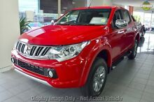 2016 Mitsubishi Triton MQ MY16 GLS (4x4) Red 5 Speed Automatic Dual Cab Utility Wilson Canning Area Preview