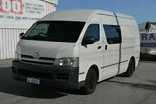 2006 Toyota Hiace KDH220R SLWB White 4 Speed Automatic Van East Rockingham Rockingham Area Preview