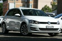 2014 Volkswagen Golf AU MY14.5 90 TSI White 7 Speed Automatic Hatchback Mosman Mosman Area Preview