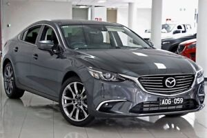 2017 Mazda 6 GL1021 GT SKYACTIV-Drive Machine Grey 6 Speed Sports Automatic Sedan South Melbourne Port Phillip Preview