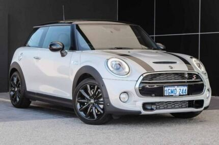 2017 Mini Hatch F56 Cooper S Silver 6 Speed Sports Automatic Hatchback