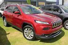 2015 Jeep Cherokee KL MY15 Limited Red 9 Speed Sports Automatic Wagon Pearsall Wanneroo Area Preview