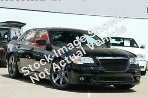 2012 Chrysler 300 LX MY12 SRT-8 Black 5 Speed Sports Automatic Sedan Hoppers Crossing Wyndham Area Preview