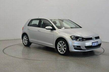 2014 Volkswagen Golf VII MY14 103TSI DSG Highline Silver 7 Speed Sports Automatic Dual Clutch Victoria Park Victoria Park Area Preview