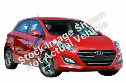 2015 Hyundai i30 GD4 Series II MY16 Active X Firey Red 6 Speed Sports Automatic Hatchback Hillcrest Logan Area Preview