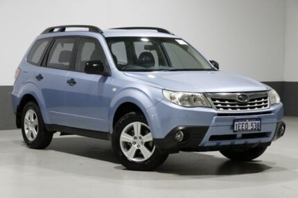 2013 Subaru Forester MY12 X Blue 4 Speed Auto Elec Sportshift Wagon Bentley Canning Area Preview