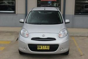 2013 Nissan Micra K13 MY13 ST Silver 4 Speed Automatic Hatchback Blacktown Blacktown Area Preview