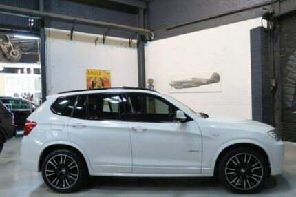 2013 BMW X3 F25 MY0413 xDrive28i Steptronic White 8 Speed Automatic Wagon Port Melbourne Port Phillip Preview