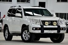 2012 Toyota Landcruiser Prado KDJ150R 11 Upgrade GXL (4x4) White 5 Speed Sequential Auto Wagon Coopers Plains Brisbane South West Preview