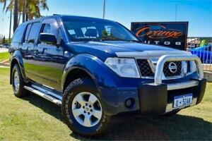 2005 Nissan Pathfinder R51 ST (4x4) Blue Velvet 5 Speed Automatic Wagon Greenfields Mandurah Area Preview