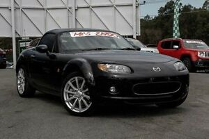 2008 Mazda MX-5 NC30F1 MY07 Roadster Coupe Black 6 Speed Manual Hardtop Taringa Brisbane South West Preview