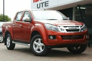 2016 Isuzu D-MAX Red Sports Automatic Utility Christies Beach Morphett Vale Area Preview