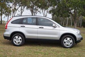 2007 Honda CR-V RE MY2007 4WD Silver 5 Speed Automatic Wagon Bundaberg West Bundaberg City Preview